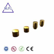 Лазерная маркировка с логотипом на резьбовых никелированных деталях с ЧПУ