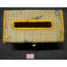 (BC-NB1032) High Quality Handmade Natural Bamboo Facial Tissue Box