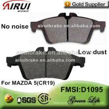 D1095 OE qualidade semi-metallic freio pad