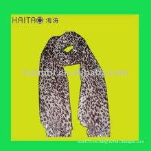 Mantón viscosa de la bufanda del leopardo largo de la nueva manera