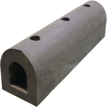 Deers dock protection hollow d rubber fender with different size