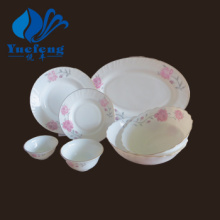 Heat Resistant Opal Glassware-28PCS Dinner Set