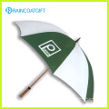 Guarda-chuva de madeira da promoção do eixo de 23inch * 8k
