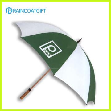 Paraguas de madera de la promoción del eje de 23inch * 8k