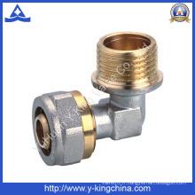 Raccord de compression à coude en laiton à fil mâle (YD-6059)