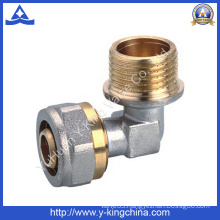 Male Thread Brass Elbow Compression Fitting (YD-6059)