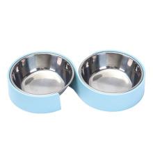 The New Pet Bowl Minimalist Design Pet Cat Bowl Anti-Overturning Dog Bowl Cat Feeding Water Bowl
