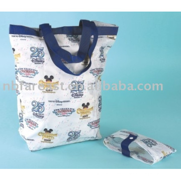 canvas fashion foldable bag