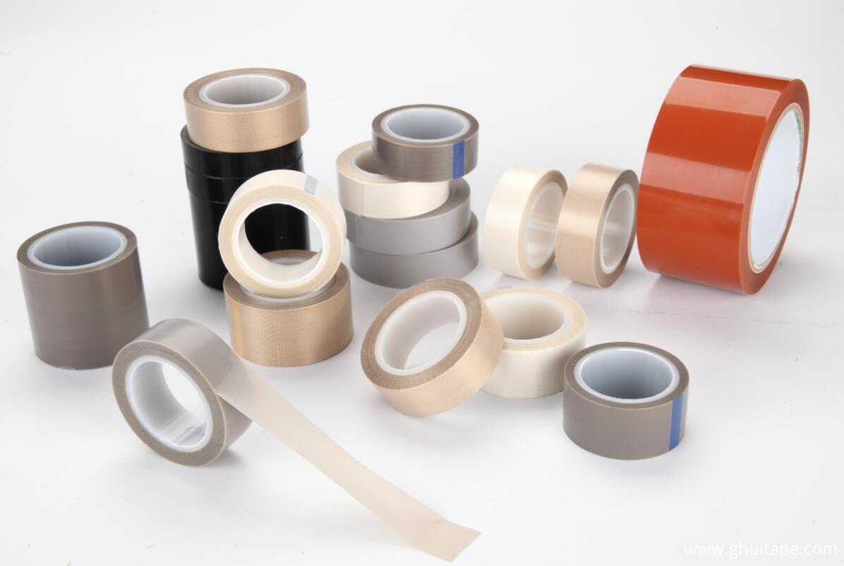 China Ptfe Coated Fiberglass Fabrics Tapes High Density
