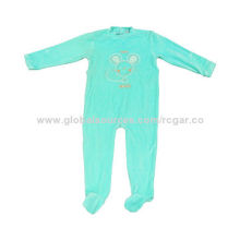 Kids coveralls made of cotton and velvet fabric, various colors, sizes, design are available
