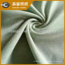 Échantillons gratuits Tissu jersey jersey de coton trame 100 Chine