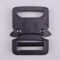 25mm Heavy Duty 300KG Steel Black Electrophoresis Tactical Cobra Belt Buckle For Military