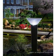 Decoração de jardim LED luminárias solares fora