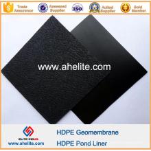 Revêtements texturés de géomembranes de HDPE de surface