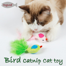 Catnip Cat Toys Bird Feather Pet Kitten Play Toy 3 colors