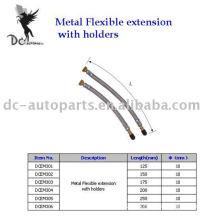 Extensión de válvula de neumático y extensión flexible de metal
