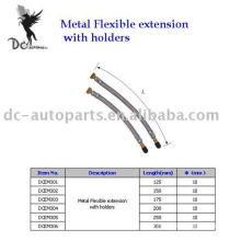 Extension de valve de pneu et extension flexible en métal