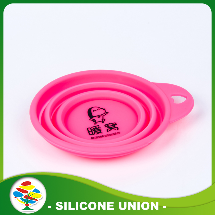 Silicone Food Dog Bowl