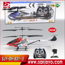 Venta caliente Mini drones 3 CH RC Helicóptero de Radio juguetes de Control Remoto juguetes de Metal Helicóptero Boy regalos juguetes de los niños