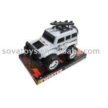 Plástico fricção poder jipe carro brinquedo (brinquedo barato)