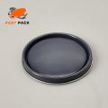 5-1 / 2in Durchmesser Metallfarbe kann Deckel (Epoxy Liner)