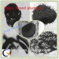 Professionelles Versorgungsmaterial konkurrenzfähiger Preis schwarzes geschmolzenes Aluminiumoxid / natürlicher Korund für niedrigen Zement