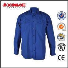 Combinaisons de soudage ignifuges bleu marine avec norme EN11612