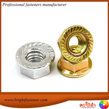 Hex Nuts With Flange DIN6923