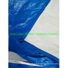 Hot Selling Blue White PE Tarpaulin Cover Tarpaulin