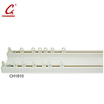 Hardware Curtain Track Qxide Spray White Slide (CH1810)