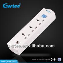 Tomada do interruptor elétrico do USB de GT-6112A 220V