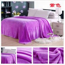 Profesional Hersteller von Flanell Fleece-Decke