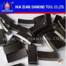 De Bonne Qualité Type de toit Diamant Pierre Bits Segments à vendre