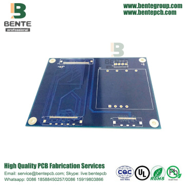 Good Quality for for High Tg FR4 PCB High-Tg PCB Dark Blue Ink export to Spain Factories