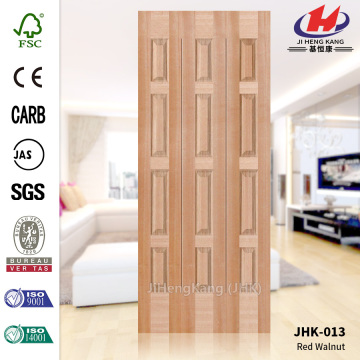 2.8MM HDF EV-Red Walnut Molded Door Skin