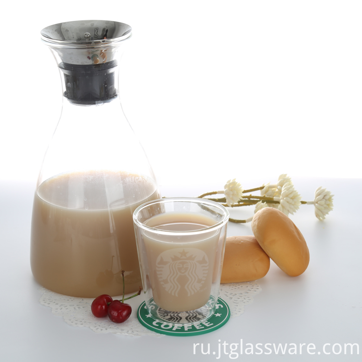 Water Juice Pitcher with lid