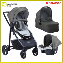 NEW Good Baby Stroller 3 in 1 with Car Seat and Carrying Cot