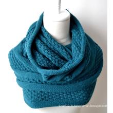 Châle en acrylique tricoté (12-BR201812-1)
