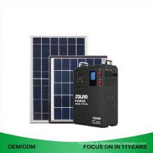 Armazenamento da bateria 3.2Kwh fora do gerador solar do conjunto completo do poder 2000W da grade gerador da luz de 5000 watts