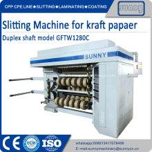 Machine à rembobiner en papier