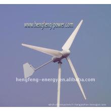300W démarrage faible vitesse Wind Turbine éolienne Power Generator