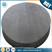 Stainless steel 304 316 316L wire mesh 20 50 micron filter mesh disc /aeropress coffee maker metal filter disc