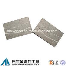 Segmento del diamante alto 15mm para cortar la piedra arenisca