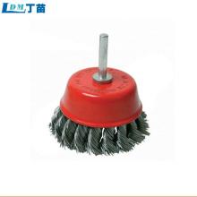 Escova de roda abrasiva de polimento de fornecimento direto da fábrica