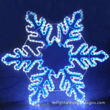 Christmas Lights 2014 w/UL/SAA-certified LED Rope Snowflake for 2014 Christmas Outdoor Decoration