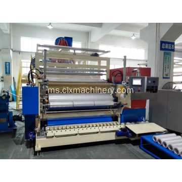 Stretch Film Production LLDPE sepanjang filem Extruder