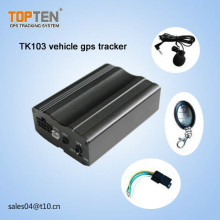 Сигнал тревоги Geo-загородки автомобиля, с карточкой SIM, двигатель отрезал, сигнал тревоги открытой двери, свободное APP Tk103-Ez