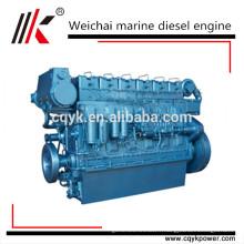 400hp à 500hp chinois 6 cylindres nantong diesel moteur marin weichai diesel moteur diesel prix