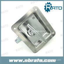 oil tank truck stainless steel T handle lock