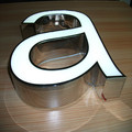 Chain Store LED channel Letters Signs para la venta